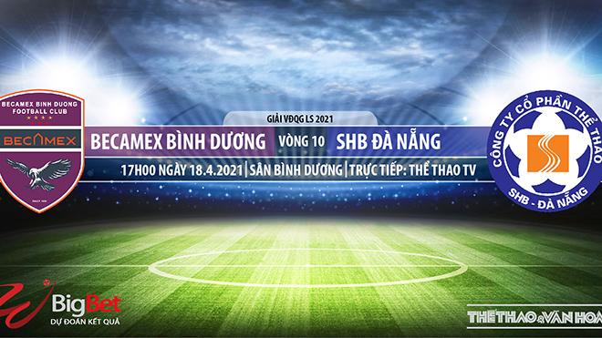 Soi kèo nhà cái Bình Dương vs Đà Nẵng. TTTV trực tiếp vòng 10 V-League 2021