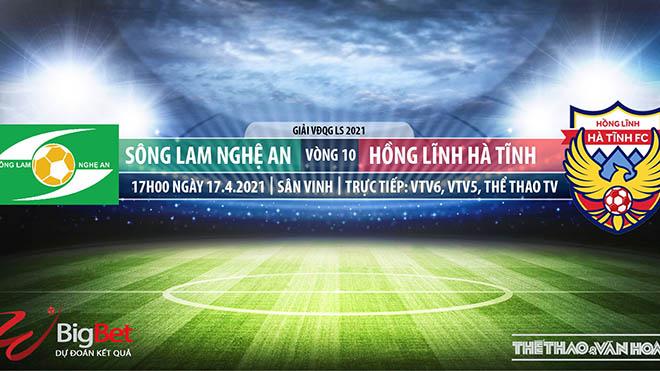 Soi kèo nhà cái SLNA vs Hà Tĩnh. VTV6, TTTV trực tiếp bóng đá Việt Nam