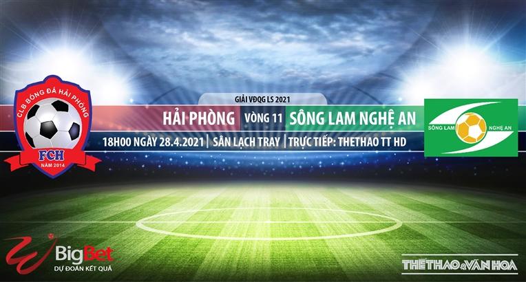 Soi kèo nhà cái Hải Phòng vs SLNA.TTTT HD trực tiếp vòng 11 V-League 2021