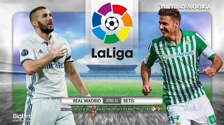 Soi kèo nhà cáiReal Madrid vs Real Betis. BĐTV trực tiếp bóng đá Tây Ban Nha