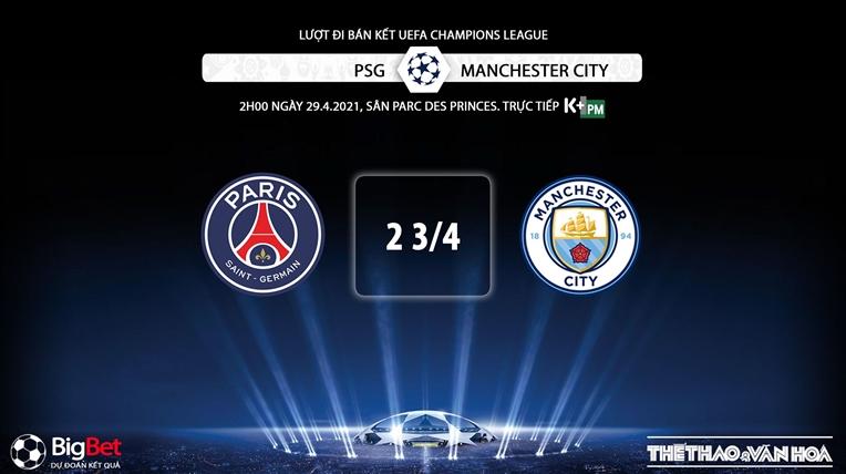 Keo nha cai, Kèo nhà cái, PSG vs Man City, K+PM, Trực tiếp bóng đá cúp C1, Kèo cúp C1, trực tiếp PSG đấu với Man City, xem trực tiếp bóng đá Champions League