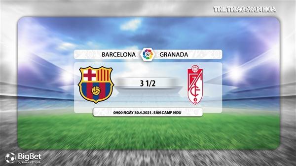 Keo nha cai, kèo nhà cái, Barcelona vs Granada, BĐTV trực tiếp bóng đá Tây Ban Nha, trực tiếp Barcelona đấu với Granada, link xem trực tiếp bóng đá Tây Ban Nha