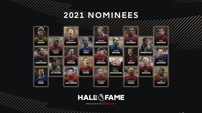 Ryan Giggs vắng mặt trong danh sách đề cử vào Ngôi đền huyền thoại Premier League