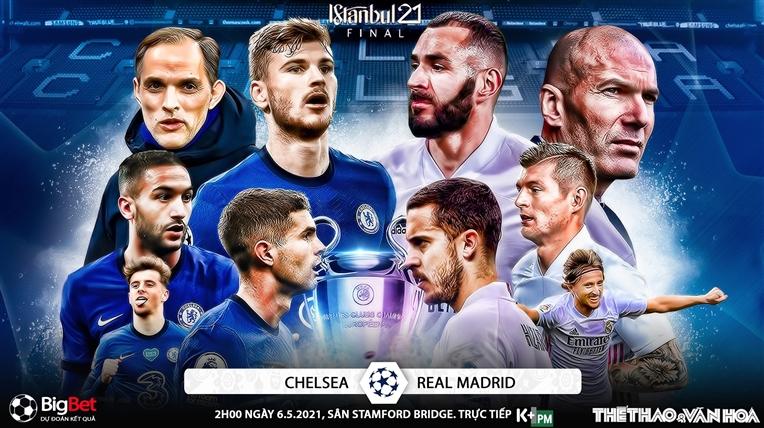 Soi kèo nhà cáiChelsea vs Real Madrid. K+, K+PM trực tiếp bóng đá Bán kết cúp C1