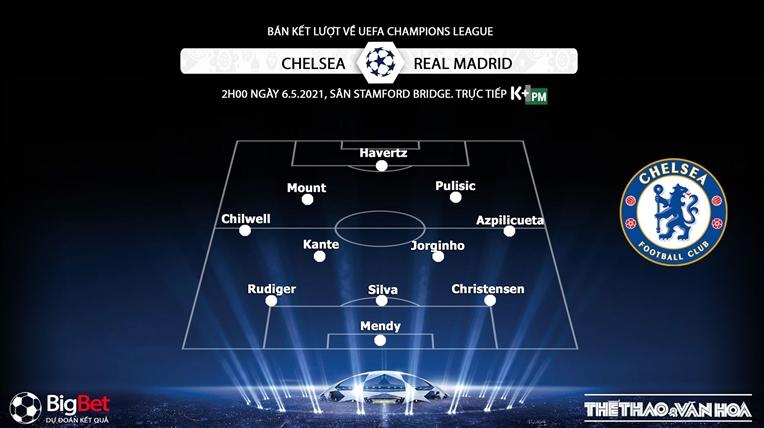 Keo nha cai, kèo nhà cái, Chelsea vs Real Madrid, K+, K+PM trực tiếp bóng đá Bán kết cúp C1, bán kết Champions League, kèo Chelsea, kèo Real Madrid, kèo bóng đá C1