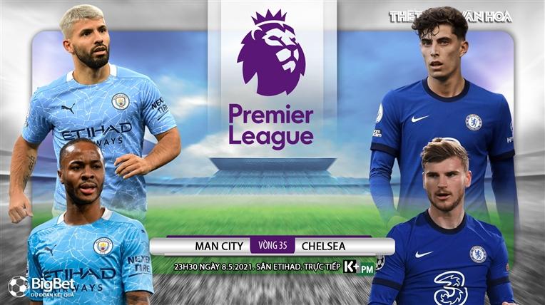 Soi kèo nhà cáiMan City vs Chelsea. K+, K+PM trực tiếp bóng đá Ngoại hạng Anh
