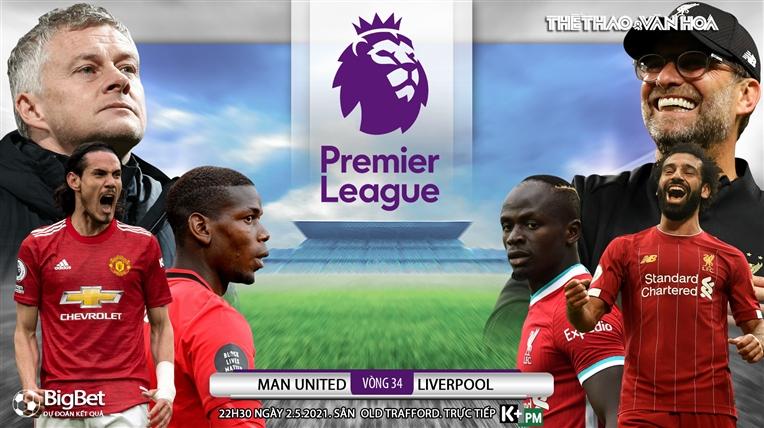 Soi kèo nhà cáiMU vs Liverpool. K+, K+PM trực tiếp bóng đá Anh hôm nay