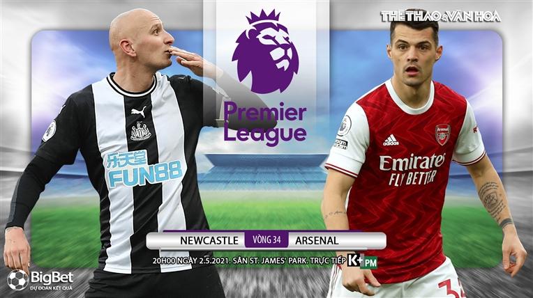 Soi kèo nhà cáiNewcastle vs Arsenal. K+, K+PM trực tiếp bóng đá Anh hôm nay