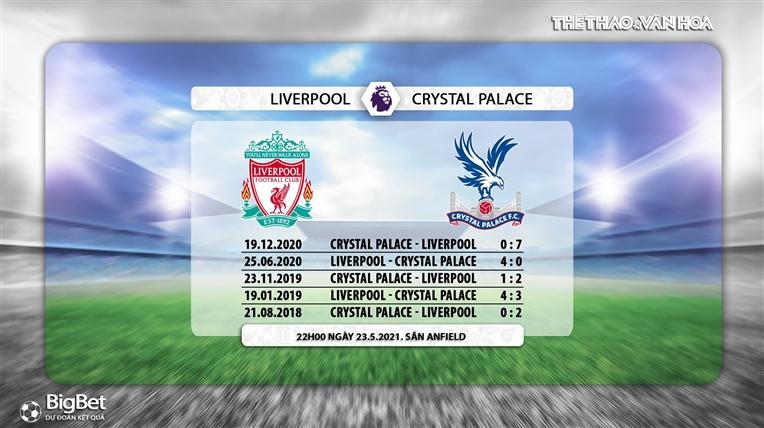 Keo nha cai, Kèo nhà cái, Liverpool vs Crystal Palace, K+PM trực tiếp bóng đá Ngoại hạng Anh, trực tiếp Liverpool Crystal Palace, kèo Liverpool, kèo bóng đá Anh, BXH Anh