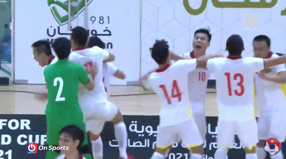 Kết quả lượt về play-off futsal World Cup 2021, Việt Nam vs Lebanon, Kết quả bóng đá Việt Nam vs Lebanon, Kết quả bóng đávòng play-off World Cup 2021 khu vực châu Á