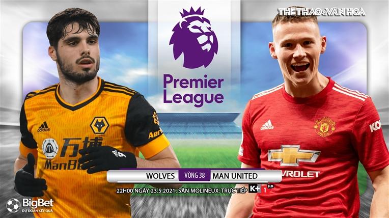 Soi kèo nhà cáiWolves vs MU. K+, K+1 trực tiếp bóng đá Ngoại hạng Anh