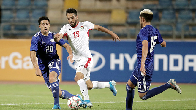 Trực tiếp bóng đá giao hữu Việt Nam vs Jordan: Cầu thủ Jordan đáng gờm nhất là ai?
