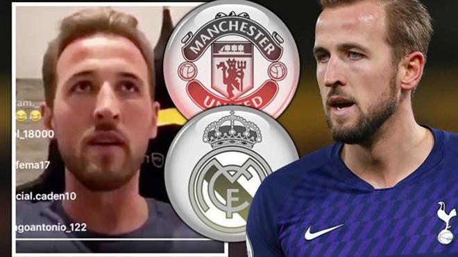 Rời Tottenham, Harry Kane sẽ tới MU hay Real Madrid?