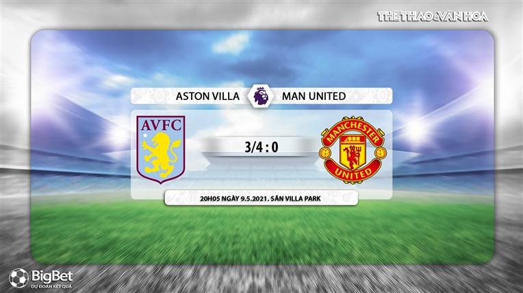 Keo nha cai, Kèo nhà cái, Aston Villa vs MU, K+, K+PM trực tiếp bóng đá Ngoại hạng Anh, trực tiếp Aston Villa vs MU, kèo MU, kèo Aston Villa, kèo bóng đá Anh, MU