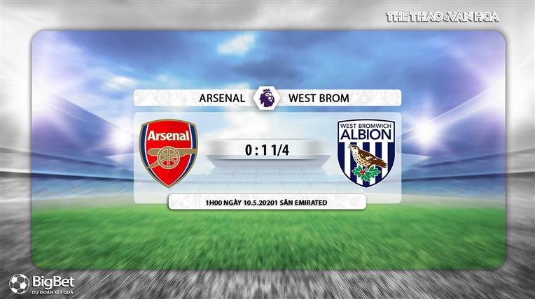 Keo nha cai, Kèo nhà cái, Arsenal vs West Brom, K+, K+PM trực tiếp bóng đá Ngoại hạng Anh, trực tiếp Arsenal West Brom, kèo Arsenal, kèo West Brom, kèo bóng đá Anh