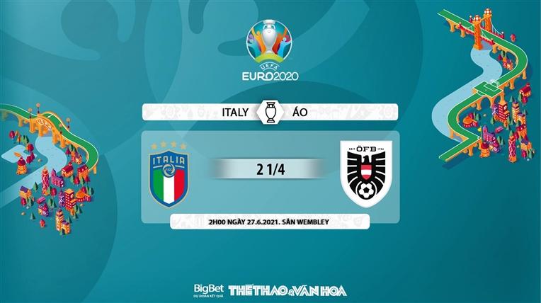 keo nha cai, keo bong da, kèo nhà cái, soi kèo Italy vs Áo, kèo bóng đá Italy vs Áo, VTV6, VTV3, trực tiếp bóng đá hôm nay, ty le keo, tỷ lệ kèo, EURO 2021