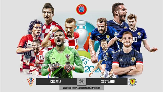 Kèo nhà cái. Soi kèoScotland vs Croatia. VTV6 VTV3 trực tiếp bóng đá EURO 2021