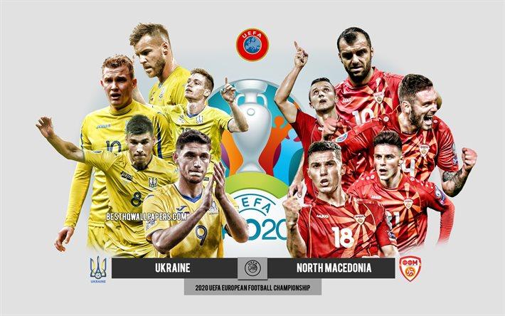 Video clip bàn thắng trận Ukraine vs Bắc Macedonia