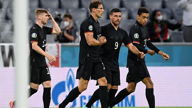 Xem trực tiếp bóng đá Anh vs Đức, EURO 2021 vòng 1/8 trên VTV6