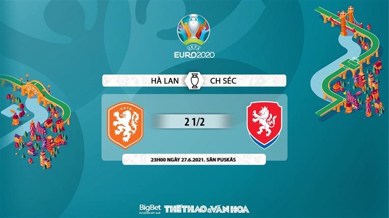 keo nha cai, keo bong da, kèo nhà cái, soi kèo Hà Lan vs Séc, kèo bóng đá Hà Lan vs Séc, VTV6, VTV3, trực tiếp bóng đá hôm nay, ty le keo, tỷ lệ kèo, EURO 2021