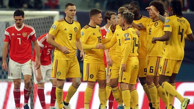Trực tiếp bóng đá: Bỉ vs Nga, EURO 2021 hôm nay. Xem trực tiếp VTV3