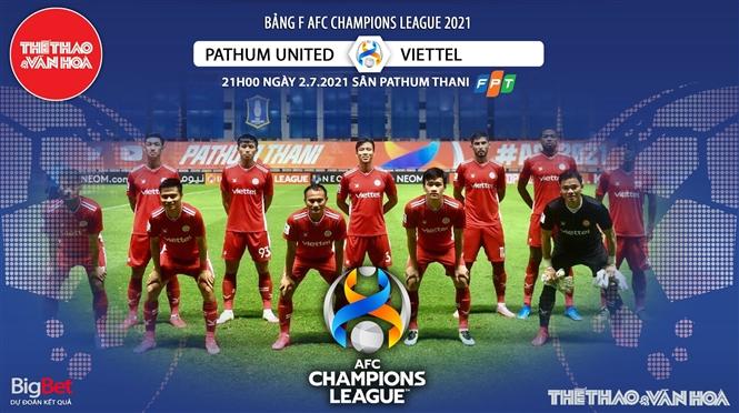 Kèo nhà cái. Soi kèo Viettel vs Pathum Utd. VTC3 trực tiếp bóng đá Cúp C1 châu Á