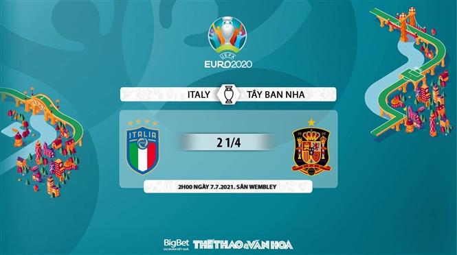 keo nha cai, keo bong da, kèo nhà cái, soi kèo Ý vs Tây Ban Nha, kèo bóng đá Ý vs Tây Ban Nha, VTV6, VTV3, trực tiếp bóng đá hôm nay, ty le keo, tỷ lệ kèo, EURO 2021