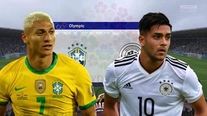 VTV6 VTV5 trực tiếp bóng đá Olympic 2021 hôm nay