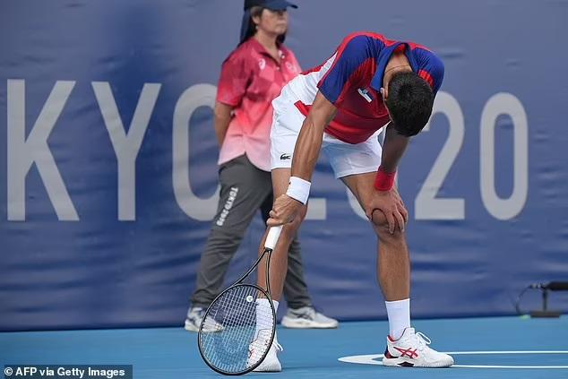 Tennis Olympic 2021, kết quả tennis tranh huy chương đồng, Djokovic vs Carreno Busta, Djokovic trắng tay, kết quả Djokovic vs Carreno Busta, Djokovic thua Busta