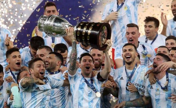 Argentina 1-0 Brazil, ket qua bong da, kết quả Argentina đấu với Brazil, kết quả chung kết Copa America, Messi, Messi vô địch Copa America, Quả bóng vàng châu Âu 2021
