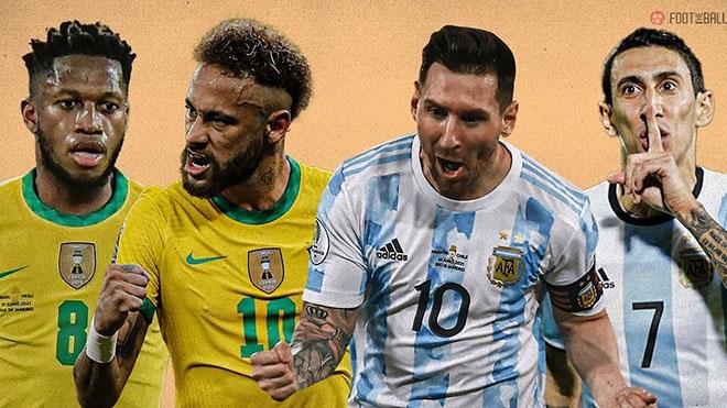 Video clip Brazil vs Argentina, chung kết Copa America: Bàn thắng và Highlights