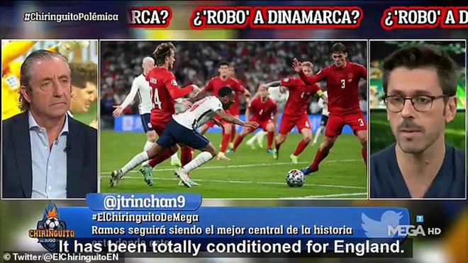 Truyền thông Tây Ban Nha tố UEFA thiên vị Anh tại EURO