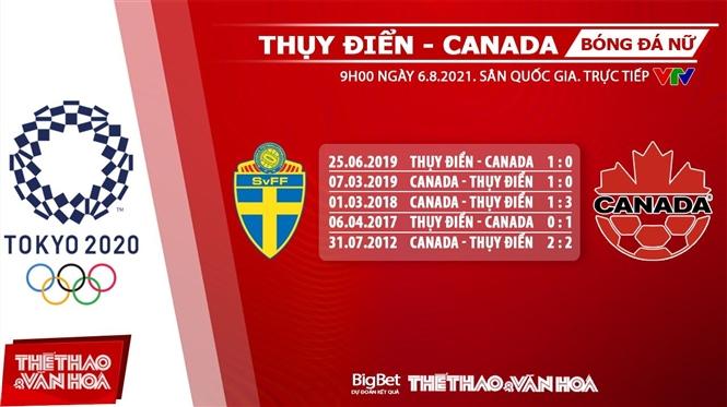 keo nha cai, keo bong da, kèo nhà cái, soi kèo Soi kèo Thụy Điển vs Canada, kèo bóng đá Soi kèo nữ Thụy Điển vs Canada, VTV6, VTV5, trực tiếp bóng đá hôm nay, Olympic 2021, ty le keo, tỷ lệ kèo