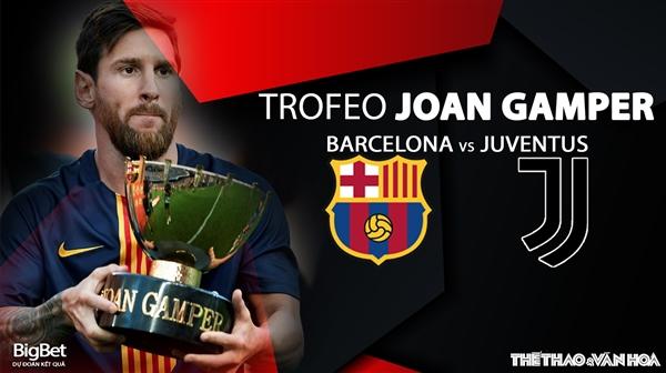 Soi kèo nhà cái, nhận định bóng đá Barcelona vs Juventus (2h30 ngày 9/8), Cúp Joan Gamper