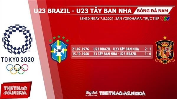 keo nha cai, keo bong da, kèo nhà cái, soi kèo Soi kèo U23 Brazil vsTây Ban Nha, kèo bóng đá Soi kèo U23 Brazil vsTây Ban Nha, VTV6, VTV5, trực tiếp bóng đá hôm nay, Olympic 2021, ty le keo, tỷ lệ kèo