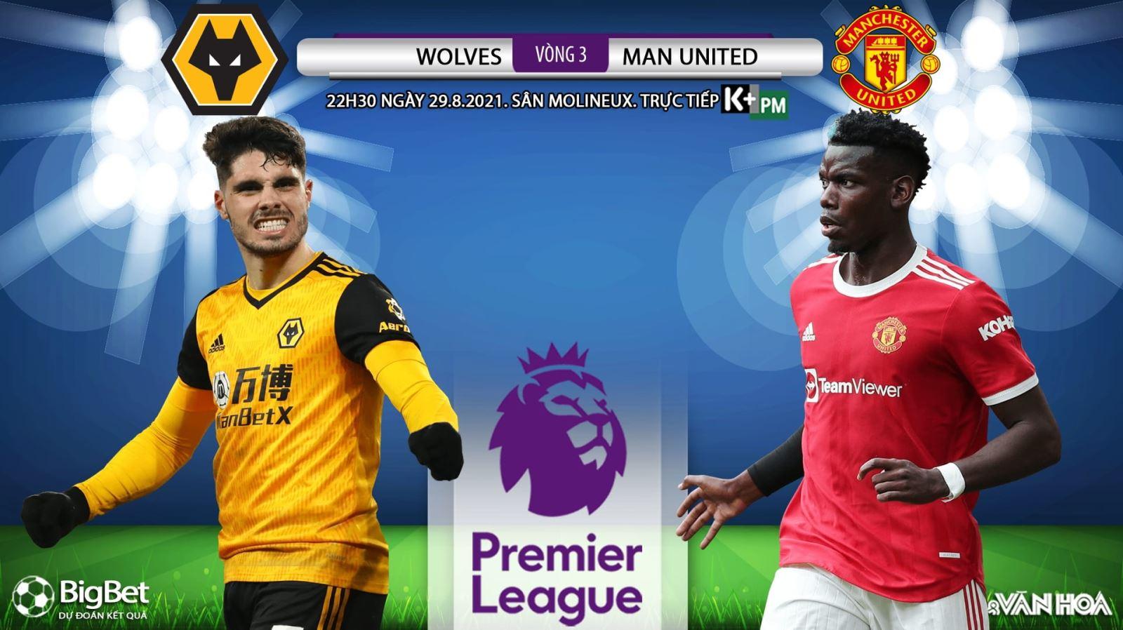 Soi kèo nhà cái Wolves vs MU và nhận định bóng đá Ngoại hạng Anh (22h30 ngày 29/8)