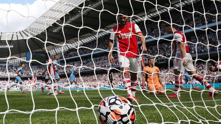 Man City 5-0 Arsenal: Man City mở tiệc bàn thắng, Arsenal chìm sâu trong khủng hoảng