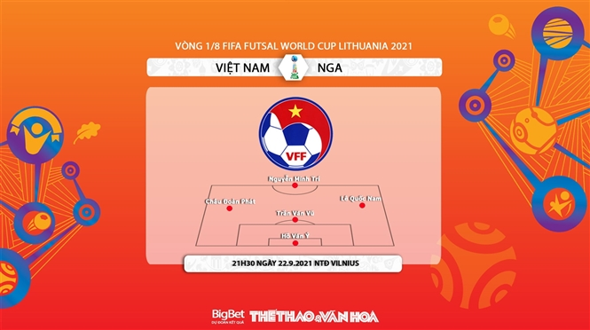 Việt Nam vs Nga, kèo nhà cái, soi kèo Việt Nam vs Nga, nhận định bóng đá, Việt Nam, Nga, keo nha cai, nhan dinh bong da, VN vs Nga, kèo bóng đá, Futsal World Cup 2021