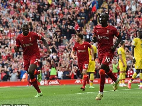 Điểm nhấn Liverpool 3-0 Crystal Palace:Salah, Mane tỏa sáng. Klopp thoải mái xoay vòng hàng thủ