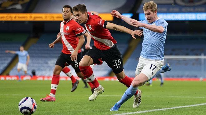 KẾT QUẢ bóng đá Man City 0-0 Southampton, Ngoại hạng Anh hôm nay