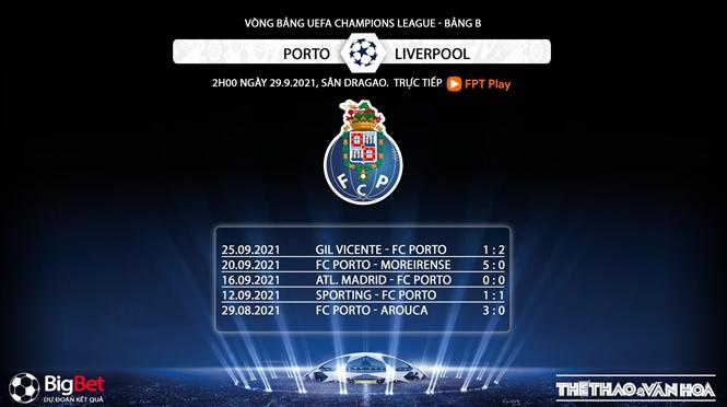 Porto vs Liverpool, kèo nhà cái, soi kèo Porto vs Liverpool, nhận định bóng đá, Liverpool, Porto, keo nha cai, nhan dinh bong da, kèo bóng đá, tỷ lệ kèo, Cúp C1, C1