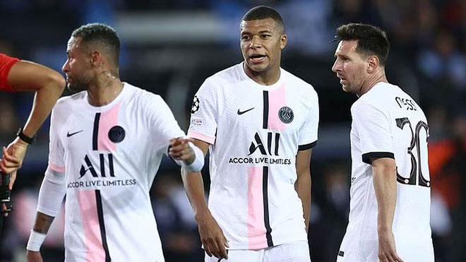 Đội hình PSG đấu Man City: Messi đá chính cùng Mbappe và Neymar