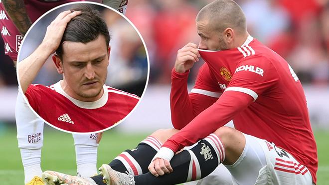 MU: Shaw và Maguire chấn thương, có thể lỡ trận gặp Villarreal