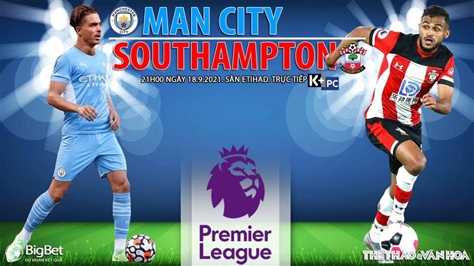 Soi kèo nhà cái Man City vs Southampton và nhận định bóng đá Ngoại hạng Anh (21h00, 18/9)