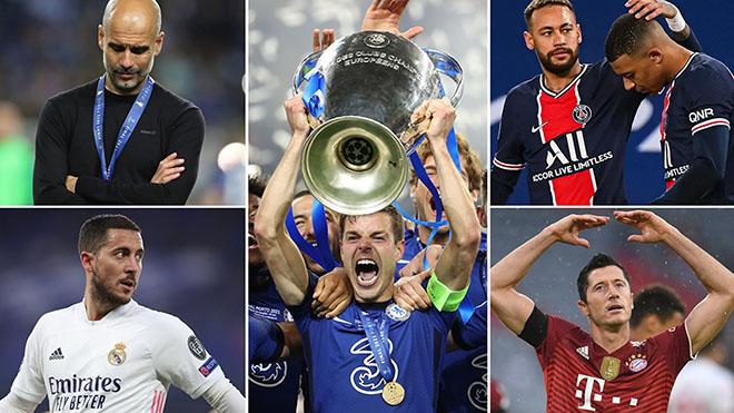 4 đội bóng Anh và PSG dẫn đầu cuộc đua vô địch Cúp C1