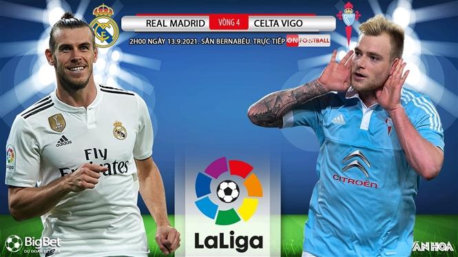 Soi kèo nhà cái Real Madrid vs Celta Vigo và nhận định bóng đá Tây Ban Nha (02h00, 13/9)