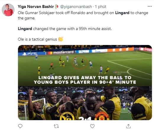 kết quả bóng đá, kết quả bóng đá hôm nay, ket qua bong da, ket qua bong da hom nay, kết quả bóng đá Cúp C1, kết quả Cúp C1, Young Boys 2-1 MU, Ronaldo, Lingard