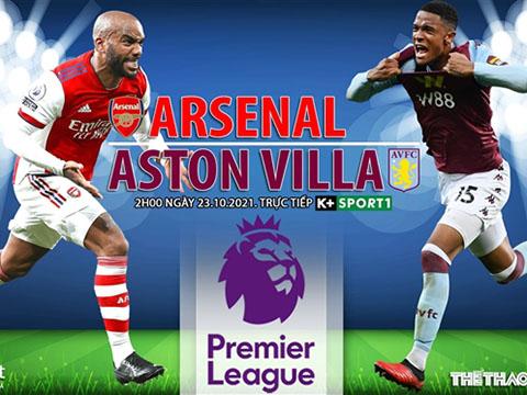 Soi kèo nhà cái Arsenal vs Aston Villa. Nhận định, dự đoán bóng đá Anh (2h00, 23/10)