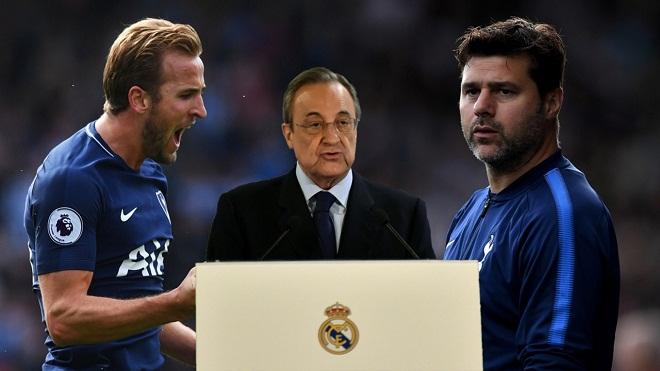 Perez: 'Real sẽ không mua Kane, bởi kiểu gì họ chả hét 250 triệu euro'