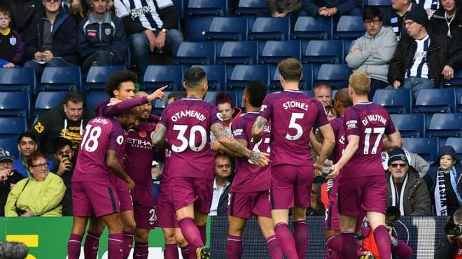 ĐIỂM NHẤN West Brom 2-3 Man City: Lộ điểm yếu ở khâu phòng ngự. Sane quá hay!
